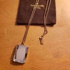 Kate Spade Mirror Pendant Necklace